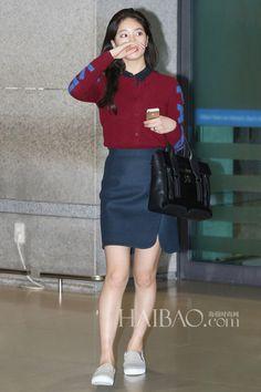 #miss A #Suzy #kpop airport fashion
