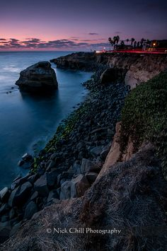 Sunset Cliffs by Nick Chill Photography - Sunset Cliffs Natural Park, Ocean Beach, San Diego, CA #sunset #ocean