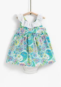 Baby girl dress  Carrefour  - Tex  -  SS17 Pattern design: Amaya Cotarelo