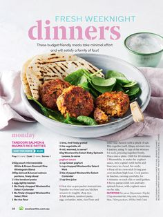 Pin by helen giblin on old fav recipes pinterest magazines get recipe food ideas from woolworths fresh magazine forumfinder Choice Image