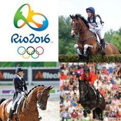 2016 Rio Olympic Games Equestrian Schedule!