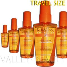 The best product I have found...expensive but lasts long. Great when humidity is high, and hair goes crazy!! Always present in my bathroom kit. Kerastase Oleo Relax Serum 50Ml
