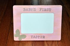 Baby's First Easter Rustic Shabby Chic Tabletop by OhSoFooFoo, $18.00