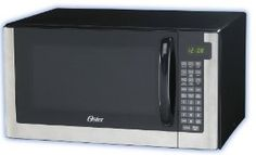 Housewarming gifts:Oster OGG61403 1-2/5-Cubic-Feet Microwave Oven, Stainless Steel