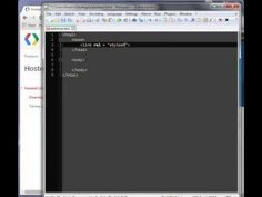 Cum sa adaugi un stylesheet la pagina html