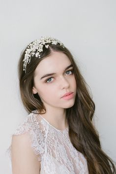 Bride La Boheme has crafted a new range of bridal accessories that are refined, elegant and made to last a lifetime It was made for the free spirited bride with a penchant for antique lace and flowing dresses. Published by Hello May Blog September '15 #bridelaboheme #bridalheadpieces #weddingaccessories ( Instagram @bridelaboheme)