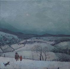 Winter Walk, Donna McGlynn