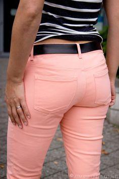 Vervliest und zugenäht: Ginger Jeans