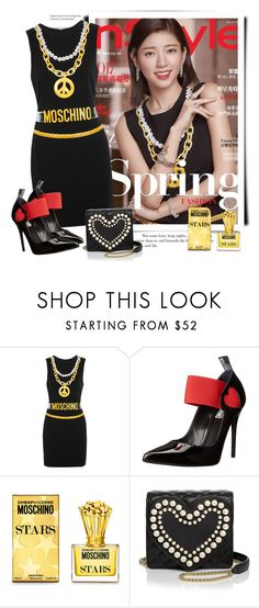 """""""Moschino Spring 2017 - InStyle"""" by sella103 ❤ liked on Polyvore featuring Moschino, Love Moschino and Boutique Moschino"""