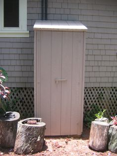 Depiction Of Outdoor Water Heater Enclosure To Protect And Maintain Its  Durability