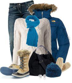 21 Outfits Ideas de Polyvore para Invierno para mantener el Calor en el Invierno