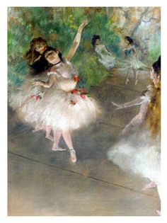 For Thursday Art-Day: Degas and his horses.