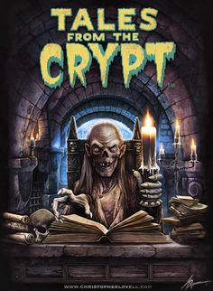 Fright-Rags release Tales from the Crypt shirts & box set for anniversary Best Horror Movies, Classic Horror Movies, Horror Show, Scary Movies, Horror Art, Comedy Movies, Retro Horror, Vintage Horror, Halloween Movies