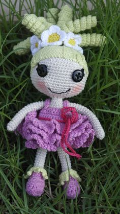 Amigurumi crochet doll Pixe lalaloopsy by AnikaMe on Etsy