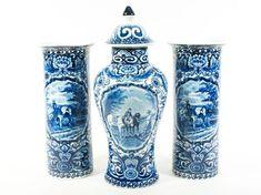 Delft Pottery & China Modest Porceleyne Fles Delft Tile Delf
