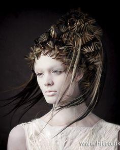 Skyler McDonald 2012 Avant Garde Hairdresser of the Year Finalist