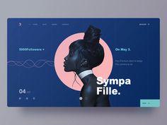 website3-Sympa Fille by Yiker#muzli #dribbble #design #interface #userinterface #userexperience #ui #ux #webdesign #graphicdesign #pixel #webdesigner #uidesign #creative #color #vector #app #uxdesign #appdesign #web #websitedesign #photoshop #uitrends #sketch #inspiration #creativity