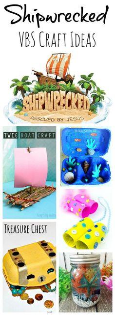 Shipwrecked VBS Alternative Craft Ideas