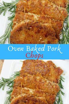 Oven Baked Pork Chops #Oven #Baked #Pork #Chops