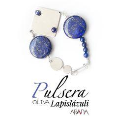 Pulsera Oliva Lapislázuli