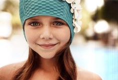 must find my old bathing cap like this! photo: Tim Marsella