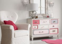 Shop Ethan Allen's Disney bedroom collection including bedroom furniture and Disney bedroom sets perfect for little ones or the young at heart. Eclectic Table Lamps, Unusual Table Lamps, Custom Furniture, Furniture Decor, Small Room Decor, Free Interior Design, Transitional Decor, Dresser As Nightstand, Dressers