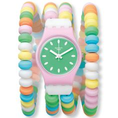 Swatch watch, party edition.... I actually think I want this. It's freakin' awesome!