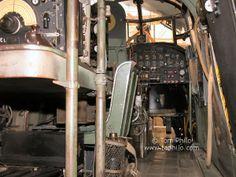 Lancaster cockpit area