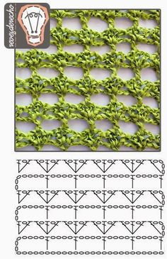 Would make a pretty Spring/Summer cowl Crochet Stitch - filet with fans Simple crochet stitch by shelby Crochet Stitch Pattern - open effect Several Crochet charts Crochet Stitches Chart, Crochet Diagram, Crochet Motif, Knitting Stitches, Crochet Lace, Crochet Patterns, Crochet Simple, Love Crochet, Confection Au Crochet