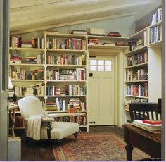 "Previous pinner: ""Rosehill Cottage in the movie, The Holiday"" -- Me: "".a room we see very little of in the movie. It's a wonderful, cozy library. Love the old rug and those old, old floors. The door is the back door to the cottage."