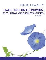Statistics for economics, accounting and business studies / Barrow, Michael