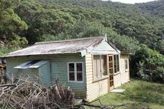 What was it like to build and live in a shack during the Great Depression? These surviving Depression era cabins in Sydney's Royal National Park give us the best idea. Make Do And Mend, Great Depression, We The Best, Australian Homes, Cabins, New Zealand, 1920s, Sydney, National Parks