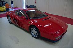 "ferrari testarossa ""a rear end i could never forget"""