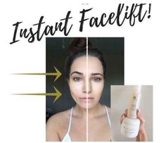 Botox in a bottle! Instant Face Lift, Daily Makeup Routine, Ageless Beauty, Healthy Skin Care, Face Skin, Your Skin, Mascara, Beauty Ideas, Care Care