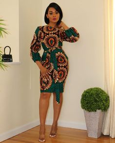 Short African Dresses, Latest African Fashion Dresses, African Print Dresses, Ankara Fashion, African Dress Styles, Short Dresses, Nigerian Fashion, Summer Dresses, African Print Clothing