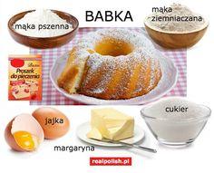 Learn Polish, Polish Language, Polish Recipes, Food Crafts, Food Illustrations, Speech And Language, Baking, Fruit, Learning