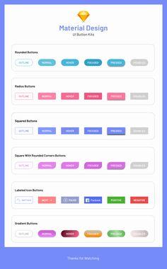 Today I have done ! A bunch of buttons Kit. Hope u Like it design Site Web Design, Flat Web Design, Web Design Tools, Design Ios, Game Ui Design, Website Design Layout, Mobile Ui Design, Graphic Design Tips, Dashboard Design