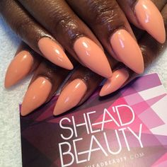 opaque peach looks great on anyone
