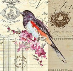 Lots of FREE collage/decoupage images