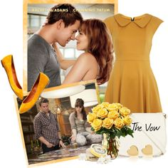 The Vow inspired look, created by bellebimba on Polyvore