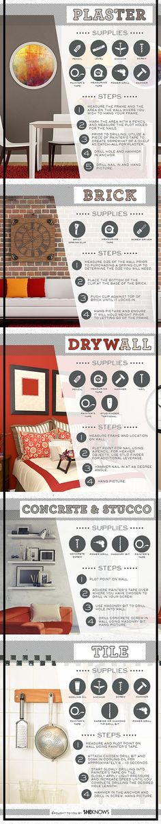 Learn how to decorate, repair, and maintain your house or apartment.