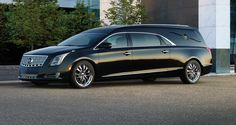 latest Cadillac hearse