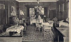 Sanatorium Lock, Speisesaal 1939