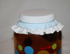 Kombucha EZ on Jar Cover Country style fits 1 by SandMatters
