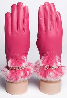 {Fur Hats} & {Leather Gloves}