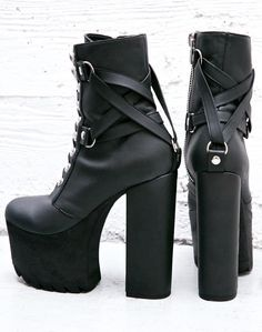 Billedresultat for gothic shoes and boots uk