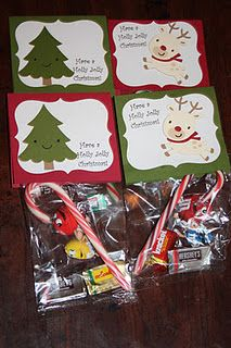 Christmas class gift bag ideas