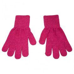 Gloves wool, real pink, Celavi