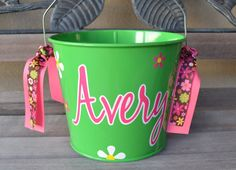 Hey, I found this really awesome Etsy listing at https://www.etsy.com/listing/193834938/personalized-bucket-5-qt-metal