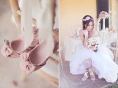 Ballerina Wedding Shoes